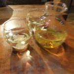 炭火割烹 蔓ききょう - 不老泉山廃仕込み参年熟成原酒(800円)