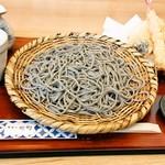 蕎麦処 樹樹 - 料理写真:天ざるそば