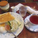 シークイン - 料理写真:モーニングサービス480円