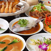 翠蓮 - ご接待、歓送迎会などに喜ばれる、四川料理をベースに本格的に仕立てたコース料理