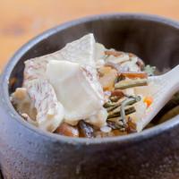 ばん菜や - 鯛と山菜の御飯