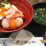 山さん寿司 本店 - おまかせ丼