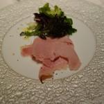 リストランテ プリマヴェーラ - 桜チップのスモークハム