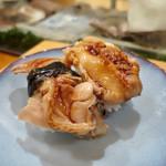 入船寿司 - 煮ハマグリ、煮アナゴ