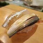 入船寿司 - コハダ、サヨリ