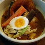 ドミニカ - チキンに黄スープ