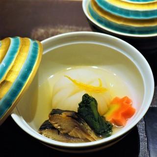 立川紋屋 - 煮物:鰊と蕪の炊き合わせ