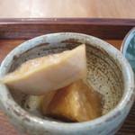 タロウ - 大根の醤油漬けアップ