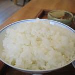 タロウ - 御飯アップ
