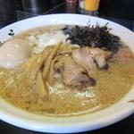 Ramentatsumi - 生姜醤油らーめん 680円 + 味玉  100円
