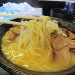 Ramentatsumi - 味噌らーめん 麺リフト