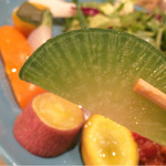 ゴロンドリーナ - 普段見ない美味しい野菜がたくさん!