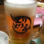 とりとり亭 - ドリンク写真:ビール(生中)