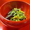 大徳寺一久 - 料理写真:クロカワと菊の酢のもの