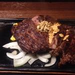 いきなりステーキ - 肩ロースステーキ400g