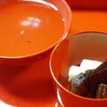 大徳寺一久 - 焦がし湯、香の物