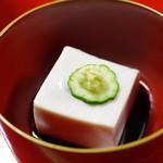 大徳寺一久 - 胡麻豆腐