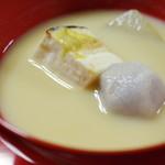 大徳寺一久 - 白味噌の椀