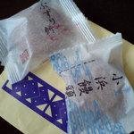 菓子舗 日影茶屋 - 料理写真:2つそろって 涼やか〜