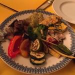ラ・ビスボッチャ - 前菜の盛り合わせ