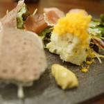 北海道×スパニッシュ SPOON - 前菜5種盛り