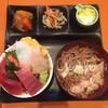 花藤 - 料理写真:ミニ海鮮丼と、肉そば