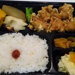 味咲家 - 味咲家 笹塚十号通り店の唐揚げ弁当550円。