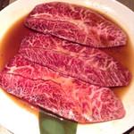 焼肉の名門 天壇 銀座店 - ミスジ