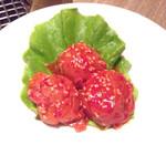 焼肉の名門 天壇 銀座店 - 梅干しキムチ