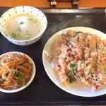 ウイグル料理EPENDI - コルマアシ定食550円