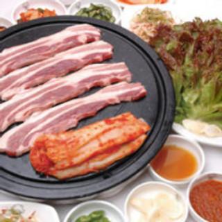 国内産生豚肉使用!オンドル石生三段バラセット