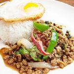 ソウルフードバンコク - 料理写真:【麺飯全品890円】ガパオ