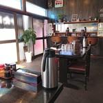 麺や 千成 - テーブル席