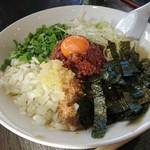 麺や 千成 - 台湾まぜそば(追い飯付き)…税込780円