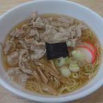 シキシマ - 料理写真:中華肉そば¥700-