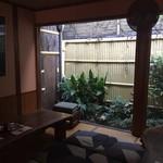 三芳屋 - お庭の出入口が新しくなりました(^^)