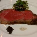 60117252 - 仙台牛のローストビーフ。絶品。
