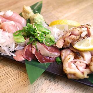 鳥取ならではの海鮮、鶏料理