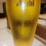 ドラゴンカレー - 生ビール2016.12