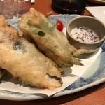 旬魚菜 ひだまり - イワシの香梅揚げ♪