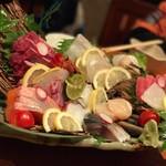 旬魚菜 ひだまり - お造り盛り合わせ♪