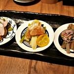 漬け野菜 イソイズム - 漬け野菜3種盛り