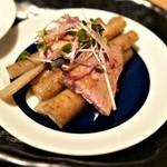 漬け野菜 イソイズム - ごぼう&鴨肉