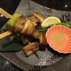 にぎり長次郎 - 料理写真:まぐろの串焼き 470円(税別)