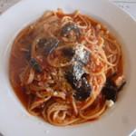 60119730 - ナスのトマトソーススパゲティ
