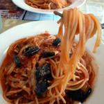 60119731 - ナスのトマトソーススパゲティ