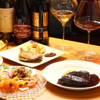 ワインと共に楽しむ料理