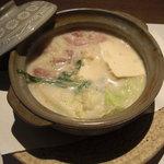 和の食 じゅあん - 豆乳鍋。