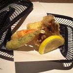 和の食 じゅあん - 天ぷら盛合せ。