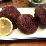 ろばた焼 玉秩父 - 肉厚椎茸焼き